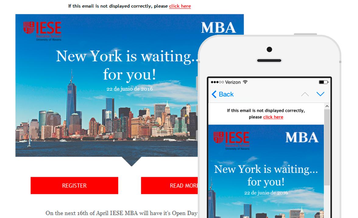 Plantilla email marketing