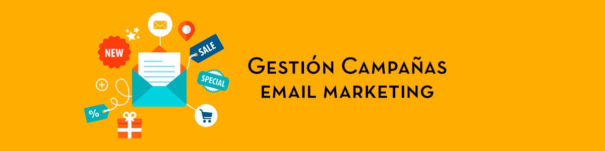 Gestión campañas email marketing
